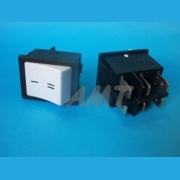 Interruptor  1 tecla - 2 pos - 6 term - 16 A - 22